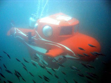 Personal Submarine - ResortSub Mexico