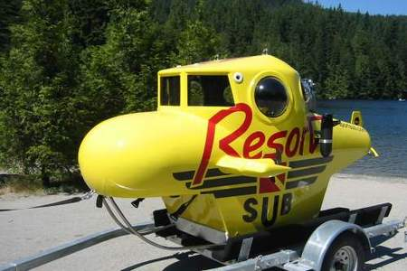 Personal Submarine - Yellow ResortSub