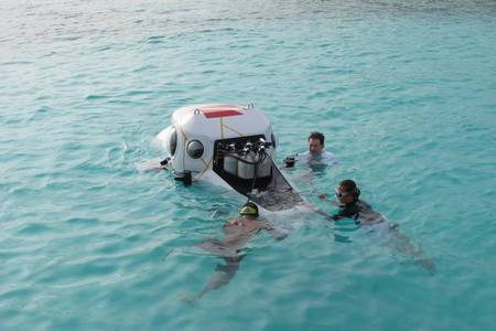 Personal Submarine - Resort Sub - Velaa - On site training